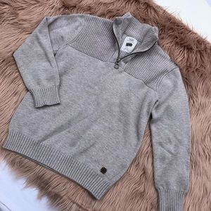 Zara Boy's tan/ beige sweater size 8
